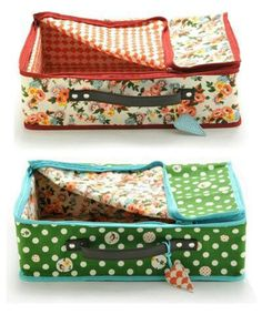 Travel Suitcase Sewing Tutor