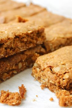 "#RecipeoftheDay: ANZAC Bars by Rahbear - ""These are easy and delicious. The kids love them in their lunchboxes. So much better then the store bought muesli bars."" - jenisa"