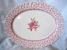 Decorative Dishes -  (http://www.decorativedishes.net/sweeet-pink-rose-tiny-roses-cottage-chic-platter-b/)