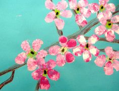 Cherry blossoms, Artsonia Art Museum :: Artwork by Kristina763