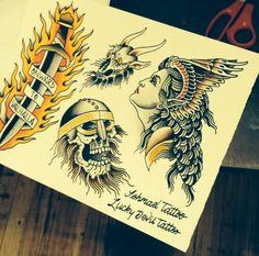 full back tattoo | Lucky Devil Tattoo