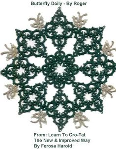 Butterfly Doily-Learn to Cro-Tat...