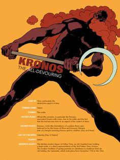 Kronos-Pin-up