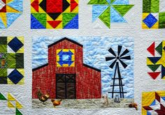 Barn Yard Quilt, Kentucky State Fair jigsaw puzzle in Handmade puzzles on TheJigsawPuzzles.com