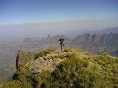 """#ETHIOPIA """"Walking on the sky"""" The Siemien Mounatin National park, Gondar Amhara Ethiopia"""