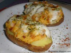 la cocina de toni Tapas, Albondigas, Flan, Relleno, Baked Potato, Bacon, Stuffed Mushrooms, Pizza, Cooking Recipes