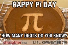 Happy Pi Day! Celebrate with STEM classes from StraighterLine www.straighterline.com