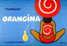 Orangina fruitillante à la pulpe d'orange