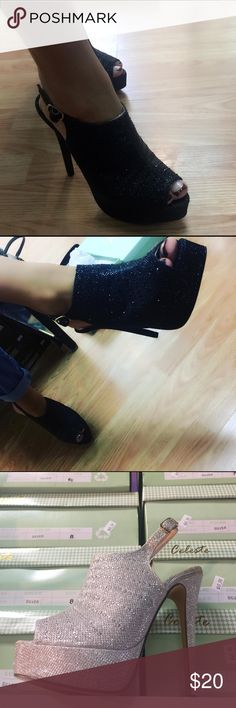 Shoes brand new in the boxes!!! Sexy heel Evening! Shoes Platforms