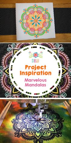 We put together another blog post featuring some of our favorite design sets!! This blog post will give you some beautiful and colorful inspo when you are using the Marvelous Mandalas design set!