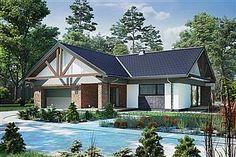 Projekt domu Nela V 137,4 m2 - koszt budowy - EXTRADOM Home Fashion, Solar Panels, House Plans, Polo, Cabin, House Styles, Outdoor Decor, Home Decor, Design