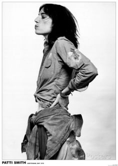 Patti Smith-Amsterdam 1976 Affiches sur AllPosters.fr