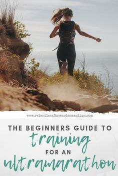 Is an ultramarathon on your bucket list? Here's everything you need to know about training for your first ultra! Race Training, Training Plan, Training Equipment, Running For Beginners, Running Tips, Trail Running, Running Songs, Running Humor, Running Motivation