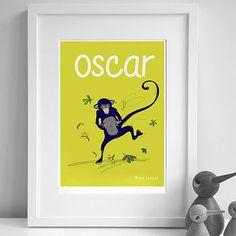 Personalised 'Monkey' Print