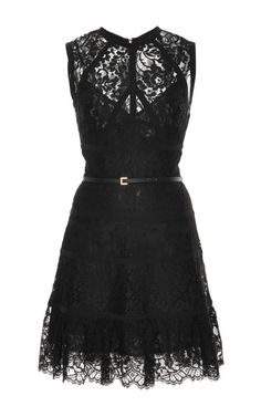 Sleeveless Lace Short Dress by  for Preorder on Moda Operandi