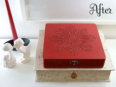 repurposed cigar box