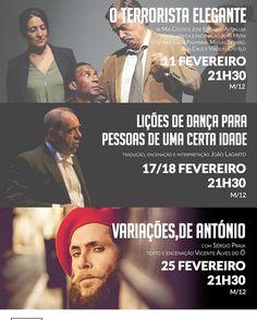 Programação do mês de Fevereiro no Teatro Municipal de Matosinhos Constantino Nery! #matosinhos #constantinonery #eventos #teatro #concertos #fevereiro