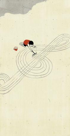 Alessandro Gottardo – Sweet and Surreal illustrations   Ufunk.net