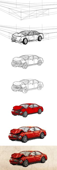 How to Draw your car | Cartoon Cars / Caricatures | Pinterest | Cars ...