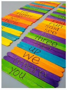 Friday Feature: {Sight Word Match-Up}