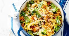 This one-pot pasta wonder is ready in 30 minutes and the pasta cooks in the sauce!