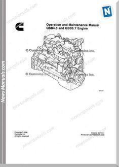 The Cummins Qsb 4.5 and 6.7 Engine Service Repair Manual