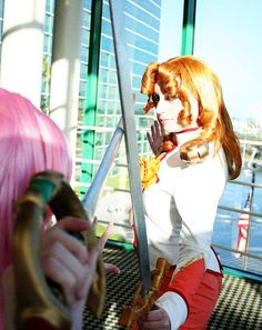 Utena and Juri cosplay duel!