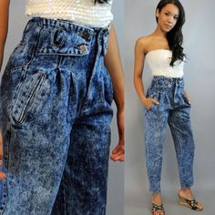 jeans – No Church in the Wild Meaning Early 90s Fashion, 80s Womens Fashion, 1980s Fashion Trends, Fashion Tips For Women, Fashion Outfits, Casual Chic Outfits, Vintage Jeans, Vintage Outfits, Z Cavaricci Jeans