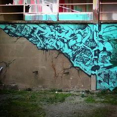 """393 Me gusta, 12 comentarios - Francis Persu (@francispersuspraycanwrestler) en Instagram: """"#persu #graffiti"""""""