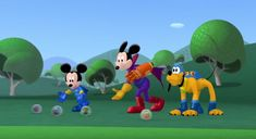 Disney Mickey Mouse Clubhouse, Mickey And Friends, Make It Yourself, Fictional Characters, Fantasy Characters