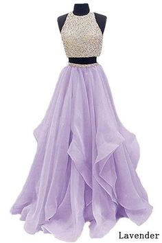 Find Dressytailor Two Piece Floor Length Organza Prom Dress Beaded Evening Gown online. Shop the latest collection of Dressytailor Two Piece Floor Length Organza Prom Dress Beaded Evening Gown from the popular stores - all in one Prom Dresses Two Piece, Hoco Dresses, Beautiful Prom Dresses, Dance Dresses, Ball Dresses, Homecoming Dresses, Prom Gowns, Quinceanera Dresses, Ball Gowns