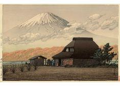 Kawase Hasui - Le mont Fuji vu de Narusawa en automne