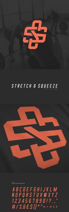 Visual identity & website concept for Stretch & Squeeze Training.