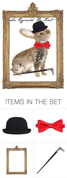"""Sir Reginald"" by freida-adams ❤ liked on Polyvore featuring art"