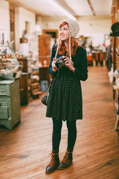 The Clothes Horse: Outfit: Vintage Haunts