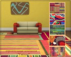 Sims 3 by Mulena: Rugs B&C • Sims 4 Downloads