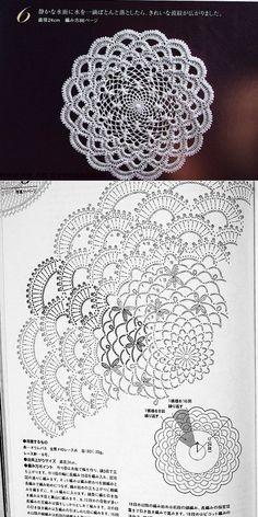 lace Crochet Scheme....♥ Deniz ♥