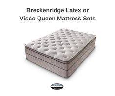 Out of this world comfort at a down to earth price is yours with the Breckenridge Visco Euro Top Mattress. Ultra comfortable and durable 1.8lb high-density foam, all atop a supportive, alternating zoned coil unit that gives you the exact support you need, exactly where you need it.