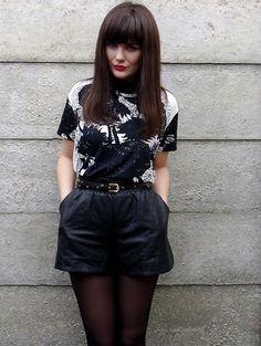 Street Style 101 || Black and White........Again (by Charlene O)