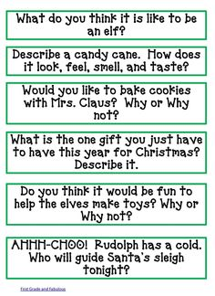 Classroom Freebies: Here Comes Santa Claus--Here Comes Santa Claus
