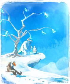 The Legend of Zelda: Twilight Princess / Wolf Link, Midna, Yeto, and Yeta / 「ゼルダの伝説まとめ(再投稿)」/「梟」の漫画 [pixiv] [09]