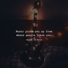 Music picks you up from where people leave you. via (http://ift.tt/2yuRLWq)