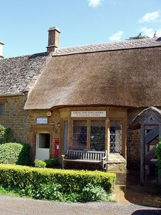 Great Tew Post Office & Village Stores in Great Tew, Oxfordshire UK