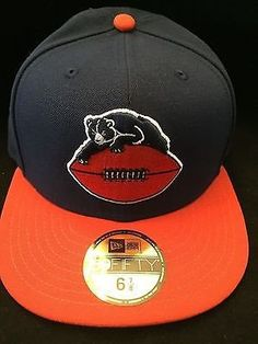 59e832256fa72 NFL Chicago Bears Adult Retro New Era 59Fifty 6 7 8 Fitted Hat