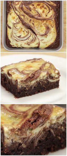 Easy Cheesecake Fudge Brownies