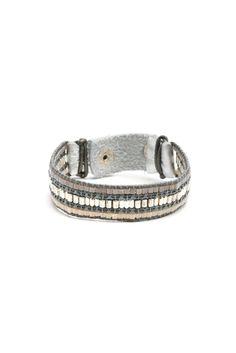 South Moon Under Metallic Beaded Bracelet | South Moon Under