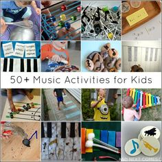 50+ music activities & music theory games for kids from And Next Comes L