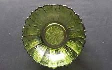 Image result for green glass ribbed bowl Yard Sale Finds, Decorative Plates, Bling, Glass, Green, Image, Home Decor, Jewel, Decoration Home