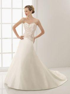 wedding dresses wedding dresses a line wedding dresses train a-line sweetheart ruffles sleeveless court trains satin wedding dresses for brides