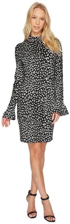 MICHAEL Michael Kors Metallic Cheetah Dress Women's Dress